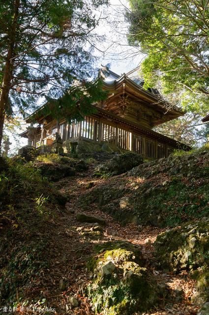 西金砂神社本殿